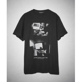 (LOVELESS/ラブレス)森山大道×LOVELESS グラフィック Tシャツ/メンズ ブラック