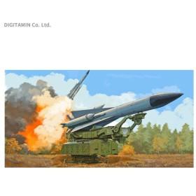 トランペッター 1/35 SAM-5 地対空誘導ミサイル / 地上ランチャー プラモデル 09550 【10月予約】