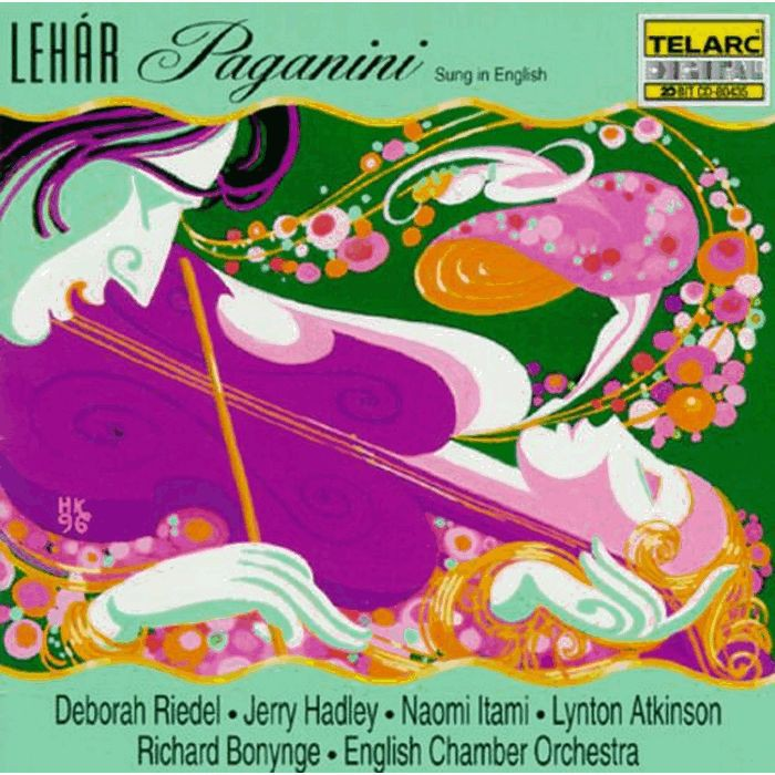 雷哈爾 帕格尼尼輕歌劇 Lehar Paganini Bonynge English Chamber 80435