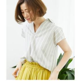【ROPE' PICNIC:トップス】ブロードスキッパーシャツ