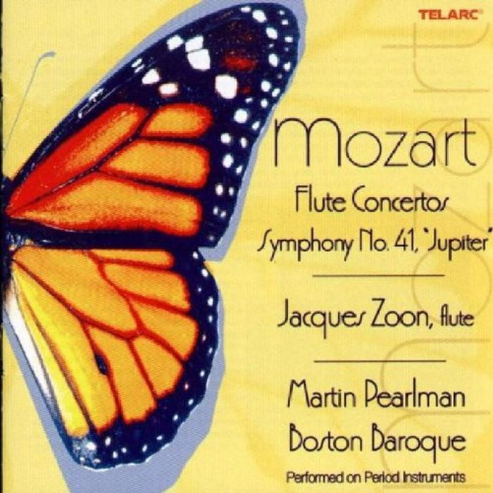 莫札特 長笛協奏曲 Mozart Flute Concertos Jupiter Symphony 80624