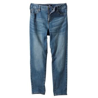 すごのびストレッチデニム9分丈テーパードパンツ(選べる2レングス) (大きいサイズレディース)パンツ, plus size pants