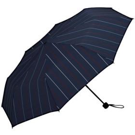 ワールドパーティー(Wpc.) 雨傘 折りたたみ傘  ネイビー  65cm  レディース メンズ ユニセックス 耐風 MSZ-041