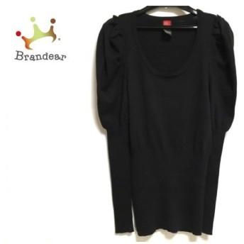 ダブルスタンダードクロージング DOUBLE STANDARD CLOTHING チュニック レディース 黒 ニット 新着 20190712