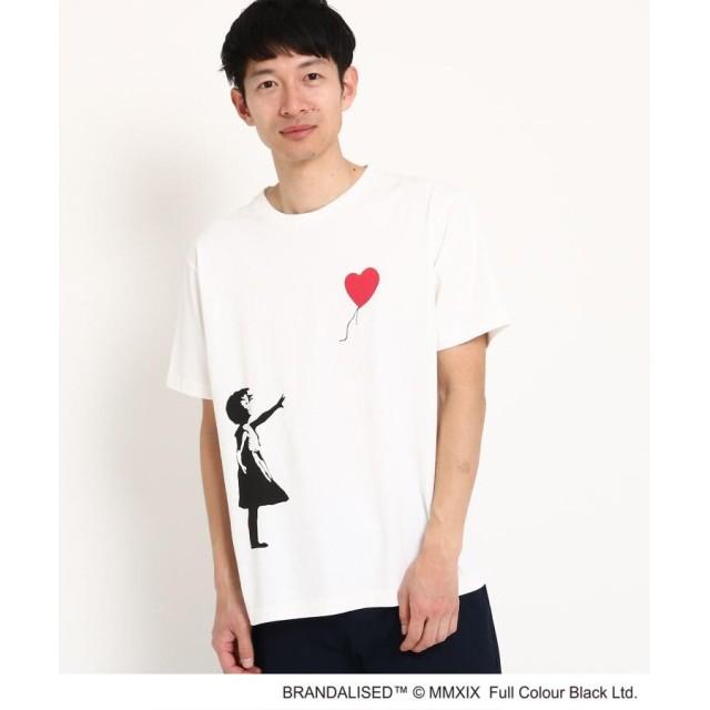 THE SHOP TK(Men)(ザ ショップ ティーケー(メンズ)) グラフィック半袖Tシャツ バンクシー