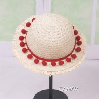 バイザーハット夏 新作 子供 帽子 麦わら ハット紫外線カット レディース 折りたたみ可能 UVカット 人気 大きいサイズ