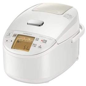 【中古】日立 圧力スチームIHジャー炊飯器 5.5合炊き RZ-BX100M-W 展示品