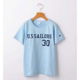 【シップス/SHIPS】 CHAMPION:【SHIPS KIDS 30th別注】フットボールTEE 2(145~160cm)