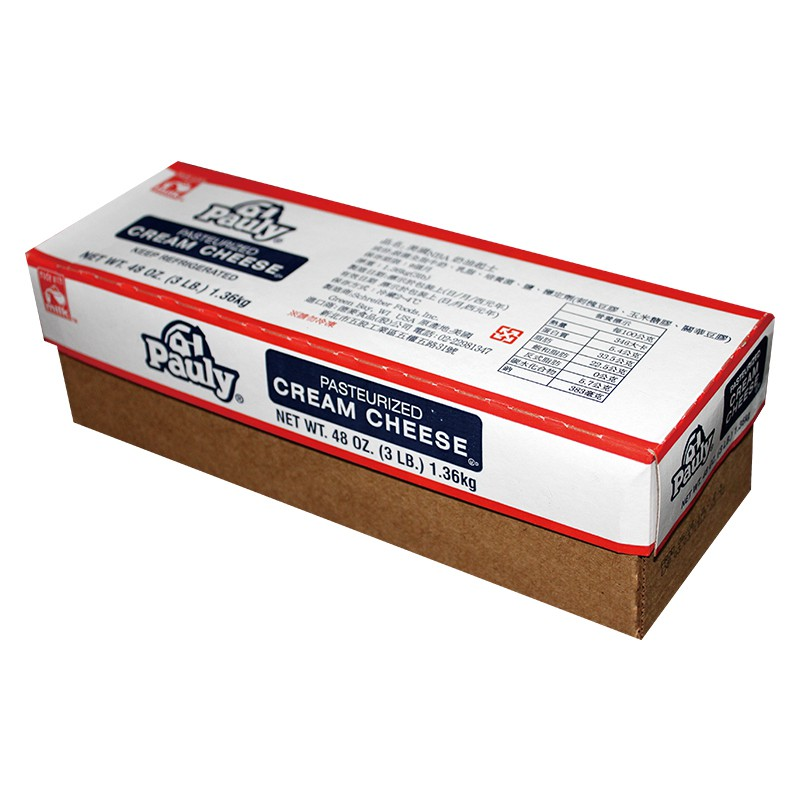應用:可直接食用或蛋糕、麵包麵糰攪拌、塗抹 ✓乳脂含量33% ✓質地綿密,風味醇厚 ------------------------------------------------- 規格: 1.36