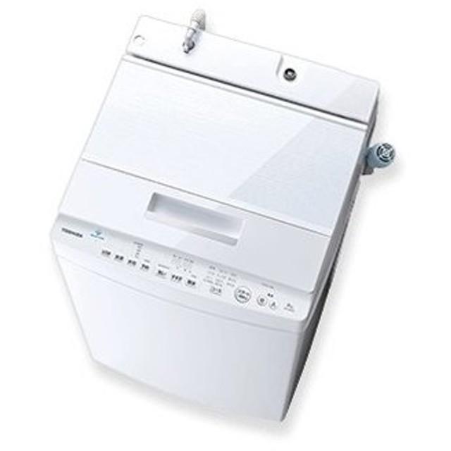 全自動洗濯機 8kg 東芝 AW-8D8-W ザブーン (1)