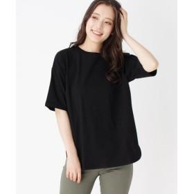 OPAQUE.CLIP(オペークドットクリップ) オーバーサイズコットンTシャツ