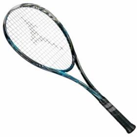 【送料無料】 ミズノ 【フレームのみ】ソフトテニス フレームラケット SCUD 05-R 63JTN95524 ソリッドブラック×ナイルブルー