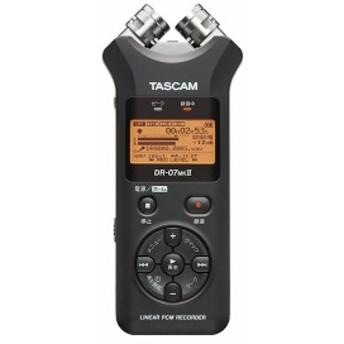 TASCAM タスカム DR-07MKII VER2 リニアPCMレコーダー