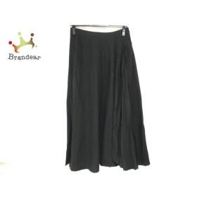 イオコムイオ センソユニコ io comme io ロングスカート サイズ38 M レディース 美品 黒 新着 20190712