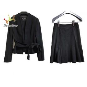 ブリリアントステージ Brilliantstage スカートスーツ サイズ7 S レディース 黒 新着 20190712