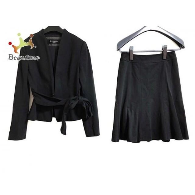 ブリリアントステージ Brilliantstage スカートスーツ サイズ7 S レディース 黒   スペシャル特価 20191008
