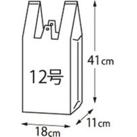 クラフトマン レジ袋 シルバー 12号 100枚 CF-S12(直送品)