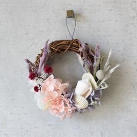 mini wreath (coral)