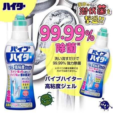 日本 KAO 花王 Haiter 排水管清潔劑 500g 清潔 除臭 消臭 除菌 排水管專用【N100996】