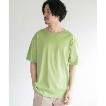 URBAN RESEARCH / アーバンリサーチ JP MADE コットンスムースTシャツ