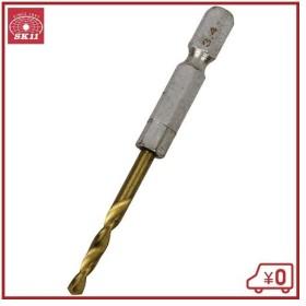 SK11 六角軸Tin鉄ドリル 微短 3.4mm 鉄工ドリルビット