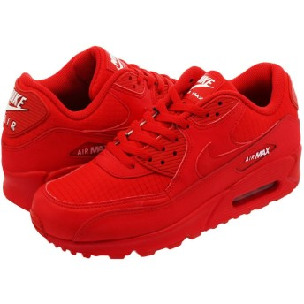 [ナイキ] AIR MAX 90 ESSENTIAL UNIVERSITY RED/WHITE - US9.5-27.5cm [並行輸入品]