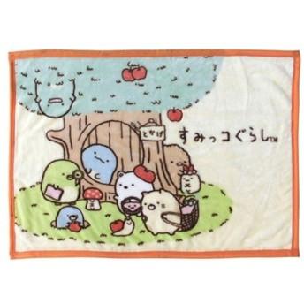 すみっコぐらし ひざ掛け毛布 【とかげのおうち/PI】 犬飼タオル SG275-4