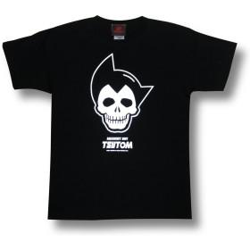 弱腕ツトム/半袖Tシャツ/ブラック/黒/メンズ/レディース/ロックTシャツ (M)