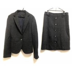アイシービー ICB スカートスーツ レディース 美品 ダークグレー【中古】20190712