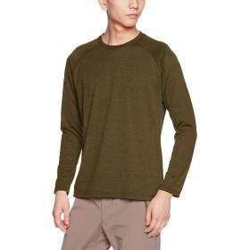 (ミズノ)MIZUNO(ミズノ) アウトドアウエア ブレスサーモ ライトインナークルーネックシャツ [メンズ] A2MA7536 34 ファーグリーン XL