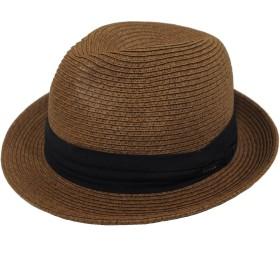 帽子 大きいサイズ ハット ストローハット 麦わら帽子 ビッグサイズ 63cm (BWN1-25)
