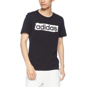 [アディダス] トレーニングウェア CORE リニアグラフィックTシャツ [メンズ] FSR29 ブラック (DV3046) 日本 J/O (日本サイズ2L相当)
