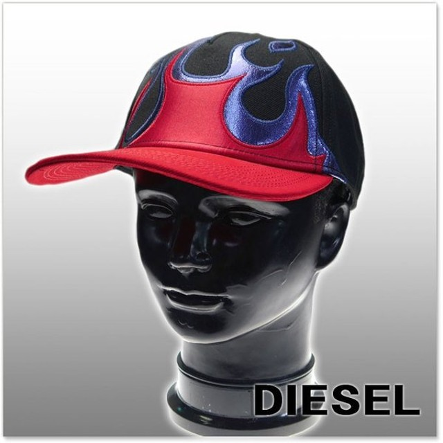 DIESEL ディーゼル メンズキャップ CELLERS / 00S9G3 0LAOI ブラック