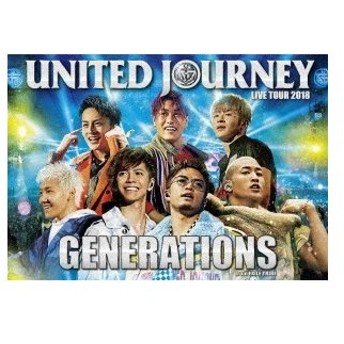 GENERATIONS from EXILE TRIBE/GENERATIONS LIVE TOUR 2018 UNITED JOURNEY<2DVD>20190123