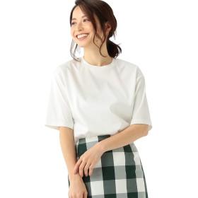 [デミルクスビームス] Tシャツ トップス スムース ハーフスリーブ プルオーバー レディース ホワイト ONE SIZE