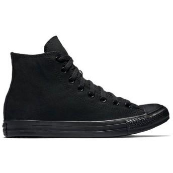 [コンバース] LADYS CANVAS ALL STAR HI キャンパス オール スター ハイ BLACKMONOCHROME 黒ブラックモノクローム 32060187 22.5cm(US3.5)