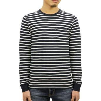 [アバクロ] Abercrombie&Fitch 正規品 メンズ クルーネック 長袖Tシャツ LONG-SLEEVE ICON POCKET TEE 124-228-0124-204 M 並行輸入品 (コード:4126990242-3)