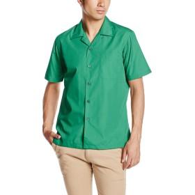 [フェイスミックス] ブロードオープンカラー半袖シャツ FB4529U メンズ グリーン 日本 L-(日本サイズL相当)