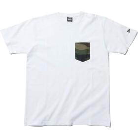 (ニューエラ) NEW ERA Tシャツ WOODLAND CAMO ホワイト S
