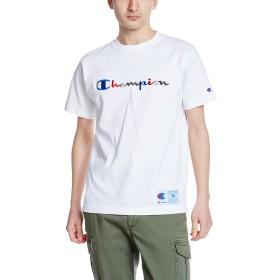 [チャンピオン] スクリプトロゴTシャツ アクションスタイル C3-H371 メンズ ホワイト 日本 XL (日本サイズXL相当)
