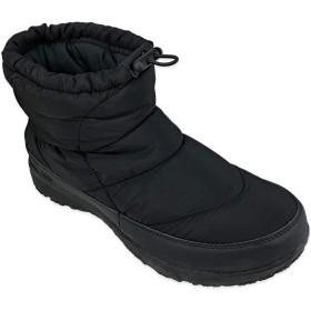 [デクト] 「防水」レインシューズ メンズ ブーツ ワークブーツ ウォーキング マウンテンブーツ トレッキング 軽量 防水 防寒 防滑 スノーブーツ 靴 (26cm, ブラック)