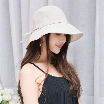 帽子 レディース ハット UV 春 夏 つば広 女優帽 ストローハット 折りたたみ UVカット 大きいサイズ 紫外線 対策 サンバイザー 麦わら帽子 ワイドハット 春秋