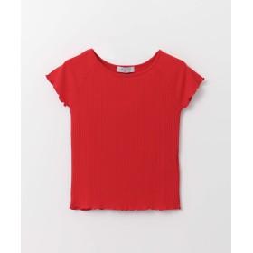 [アーバンリサーチ] tシャツ 【LAB】リブフレンチカットソー レディース RED FREE