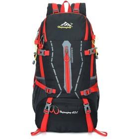 登山 リュック45l ナイロン リュックサック 通気 アウトドア 旅行 軽量 防災 避難 アウトドア 防撥水 通気性抜群 高品質 多機能 人気