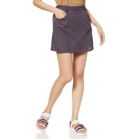 [ウィゴー] WEGO チェック タイト ミニ スカート FREE フリーサイズ ブルーチェック レディース