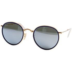 レイバン正規商品販売店 レイバン サングラス RB3517 001/30 51 Ray-Ban 伊達メガネ 眼鏡 ROUND ラウンド folding ■フレームカラー:ゴールド ■レンズカラー:グリーンミラーシルバー