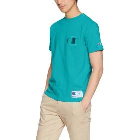 [チャンピオン] Tシャツ C3-M358 メンズ アクア 日本 L (日本サイズL相当)