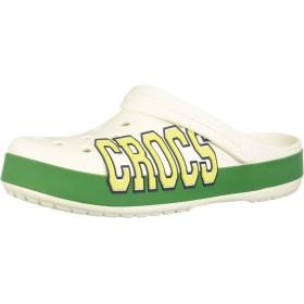 [クロックス] crocband logo clog 205568 white/kelly green M7W9 (25cm)