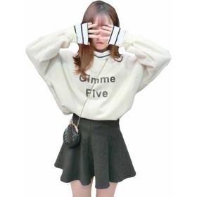 MengFan レディース パーカー 春 スウェット 無地 裏起毛 暖かい 可愛い トップス ゆったり BF風 シンプル アウター 韓国風 ファッション 防寒服(Bアプリコット)