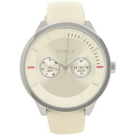 [フルラ] 時計 FURLA METROPOLIS メトロポリス 38MM レディース腕時計ウォッチ (ホワイト/シルバー 976480 R4251102547) [並行輸入品]